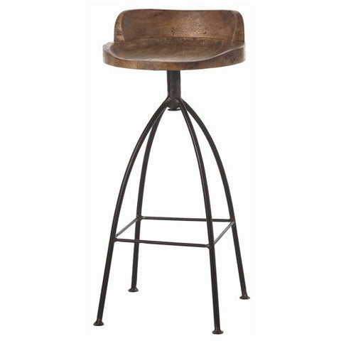 Hinkley Wood Barstool