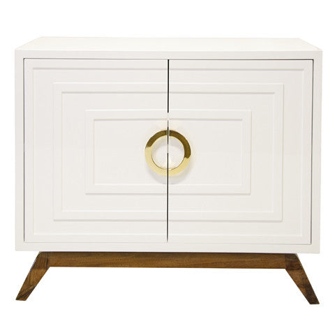 Bernard 2 Door Cabinet - Worlds Away