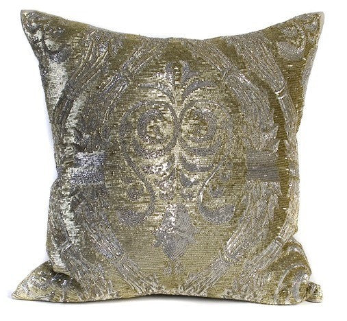 shown pillows belgravia treatments in throw green bling products diamante window luxury pillow large