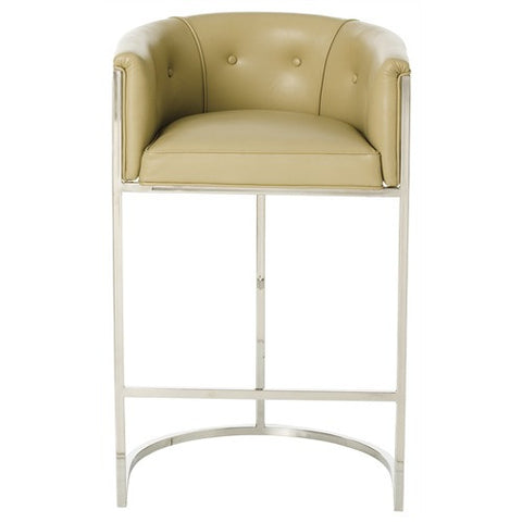 Calvin Leather Barstool - Arteriors Home