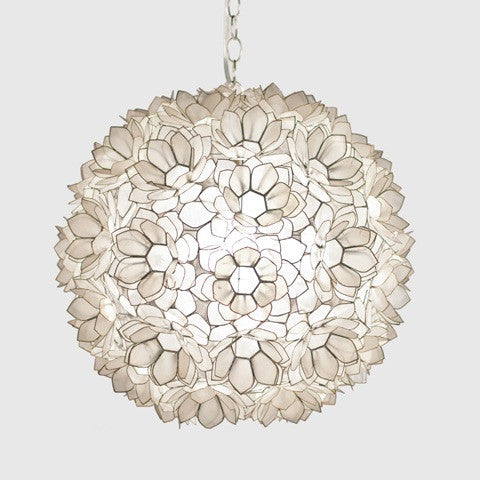 Capiz Venus Light Fixture
