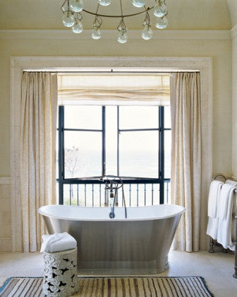 Soft and Simple Master Bathroom