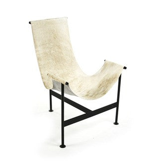 Ivory Hide Sling Chairs