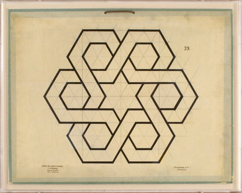 Jean Baptiste Geometric Art - Natural Curiosities