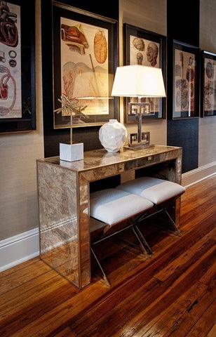 Madison Reverse Mirror Console Table