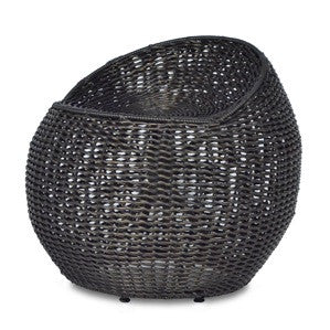 Outdoor Wicker Swivel Stool