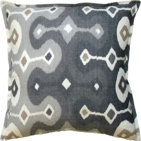 Darya Ikat Throw Pillow