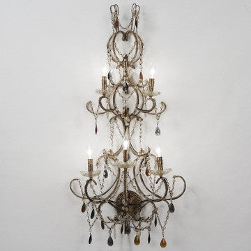 Susan Crystal Wall Sconce