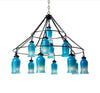 Sara Glass Chandelier