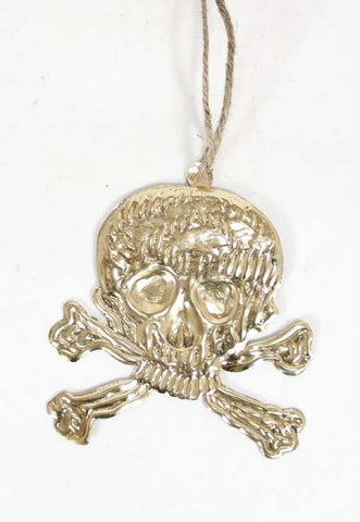 Holiday Ornament - Skull Milagro