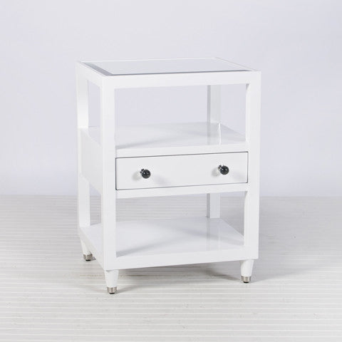 Windsor Nightstand Side Table