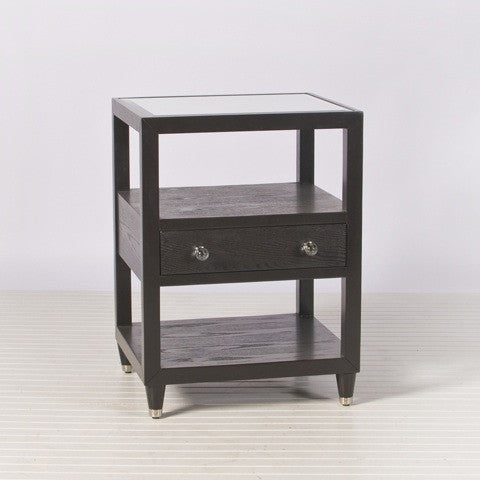 Windsor Side Table - Chocolate Oak