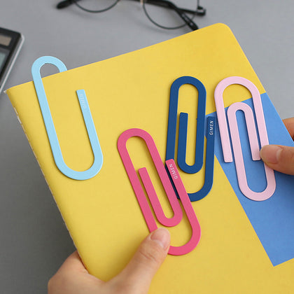 Color metal paper clips for file index - 99andco