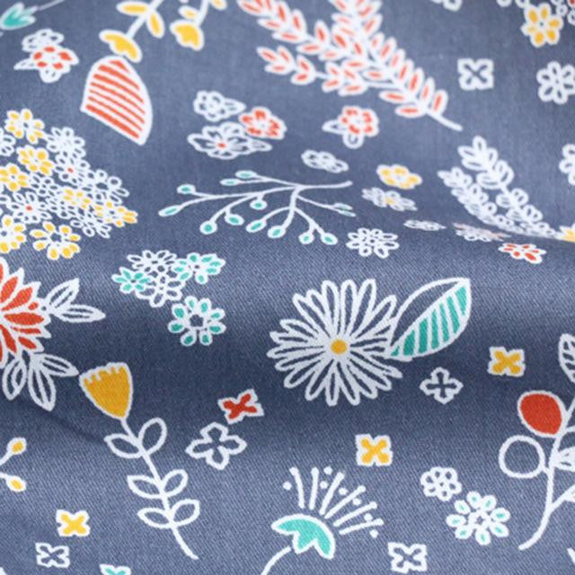 100% Cotton Floral Fairy Printed Fabric