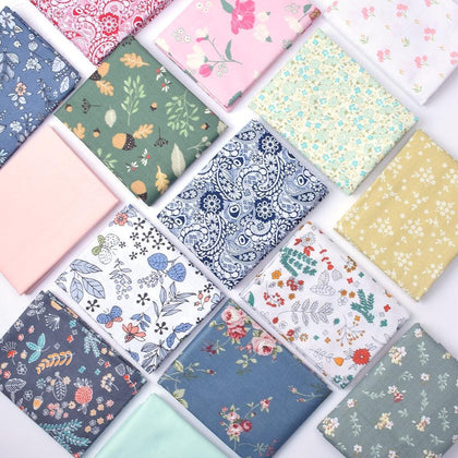 100% Cotton Floral Fairy Printed Fabric - 99andco