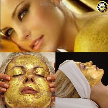 100% Original 24K golden mask Anti wrinkle facial mask - 99andco