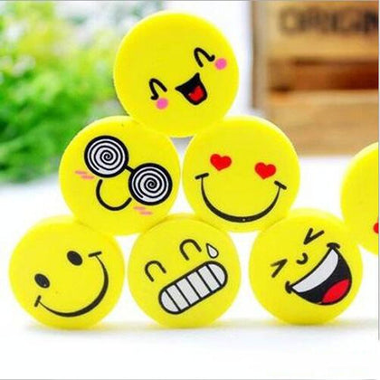 Cute lovely Smile eraser Cartoon face - 99andco