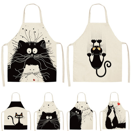 Kitchen Apron Funny Dog/cats - 99andco