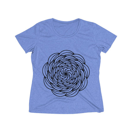 Women's Heather Wicking Tee - 99andco