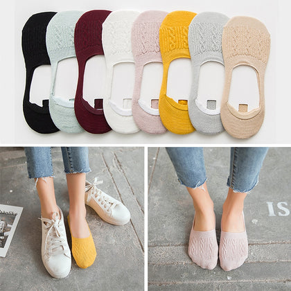 5 Pairs Cotton Women Socks - 99andco