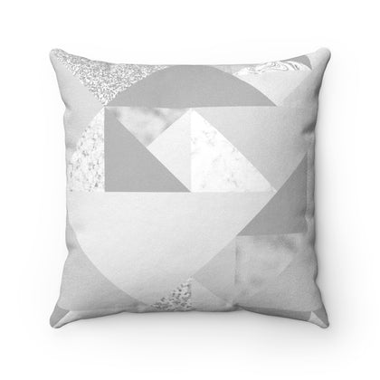 Faux Suede Square Pillow - 99andco