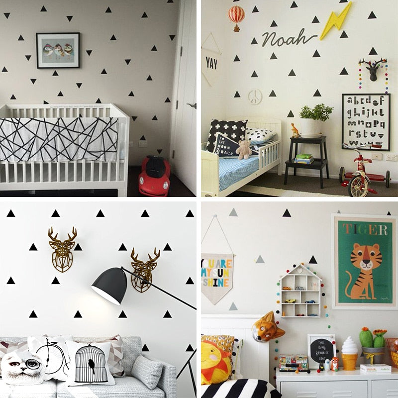 Little Triangles Wall Sticker For Kids Room