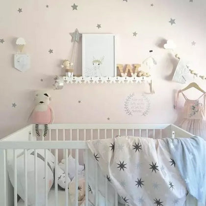Baby Nursery Little Stars Wall Stickers For Kids Room - 99andco