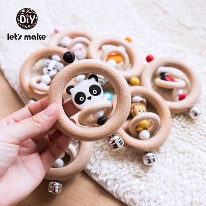 Baby Toys Silicone Beads Cartoon - 99andco
