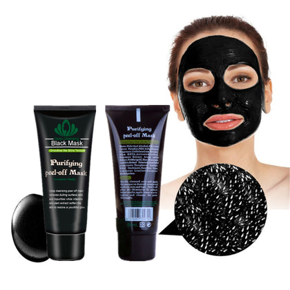 Black spot Remover Mask Nose Face Blackhead Remover Charcoal Deep Clean Mask 1Pcs - 99andco