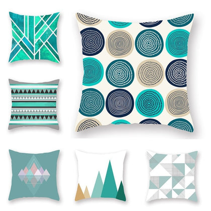 Classic Geometry Pattern Sofa Cushion Cover - 99andco