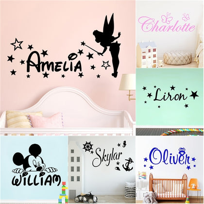Custom Name Wall Sticker - 99andco