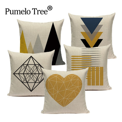 Custom Throw Pillow Covers Geometric - 99andco