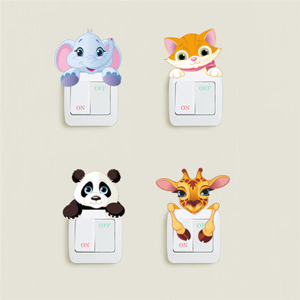 Cute Animals Wall Sticker - 99andco