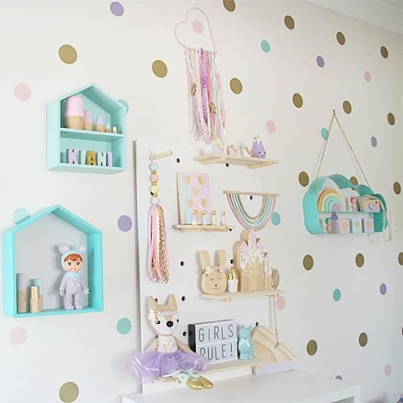 Dots Wall Stickers For Kids Room