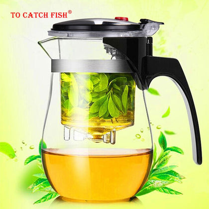 High quality  Heat Resistant Glass Teapot - 99andco