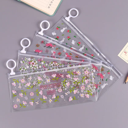 Kawaii Transparent Waterproof Pencil Case - 99andco