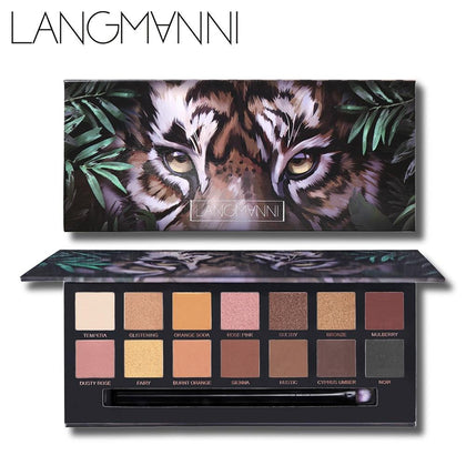 14 Colors Tiger Eyeshadow Palette - 99andco