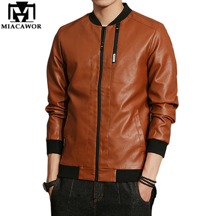 Leather Coats High Quality Autumn J - 99andco