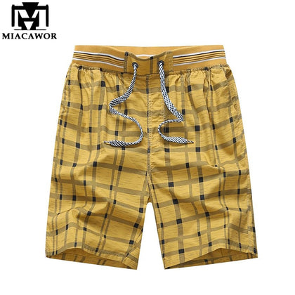 Summer 100% Cotton Casual Men Shorts - 99andco