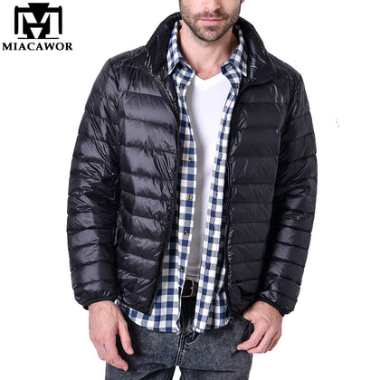 Down Jacket Men Ultralight Casual Winter Jacket - 99andco