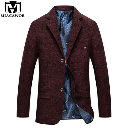 Casual Men Suit Blazer Two Button Suits - 99andco