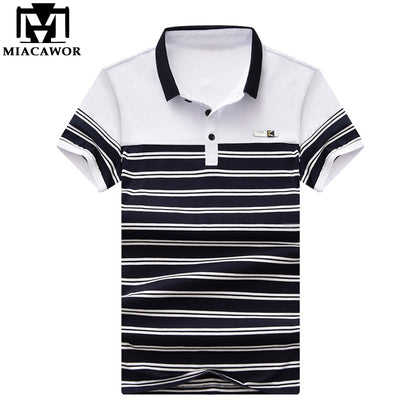 Casual Striped Men Polo shirts - 99andco