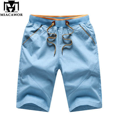 Cotton Men Shorts Solid Colors - 99andco