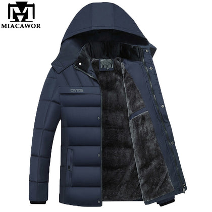 New Hooded Winter Jackets Men - 99andco