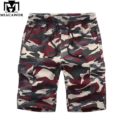 Men's Shorts Cotton Camouflage Beach - 99andco