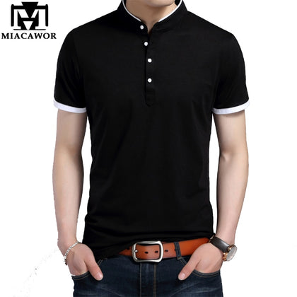 Polo shirts Men Cotton Stand - 99andco