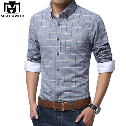Shirts Men Spring Long Sleeve - 99andco