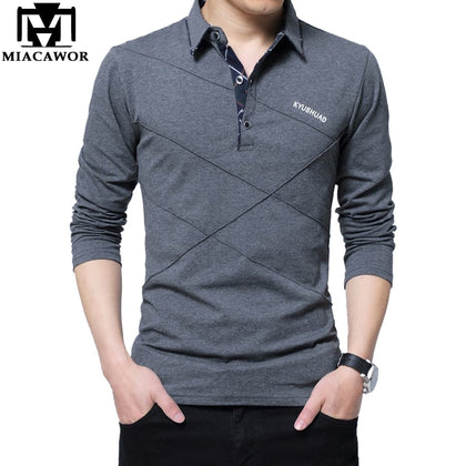 Men Polo Shirt Cotton Slim Fit - 99andco