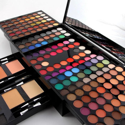 190 Colors Make Up Set Multicolor Eyeshadow Palette - 99andco