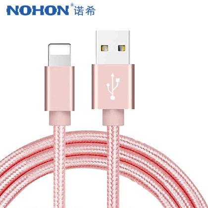 Apple USB Charging Data Cable For iPhone X 7 6 8 6S 5S Plus XS MAX XR For iPad Mini IOS 12 8 Pin Fast Charge Cables 1M - 99andco